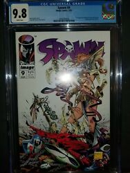 Spawn 9  First Appearance Of Angela  Cgc 9.8  Not Cbcs  Todd Mcfarlane Nm+