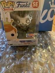 Funko Fundays Fortnite Freddy Limited Ed 2000 Pop Se With Protector Box Of Fun