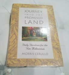 Journey Into The Promised Land Devotional Morris Cerullo Legacy Center, New, Hc