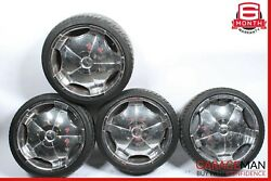 Mercedes W220 S500 S600 Cl500 Staggered Wheel Tire Rim Set Of 4 Pc R20 8.5x20