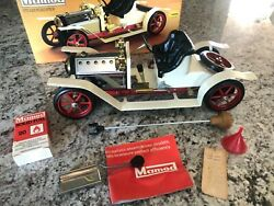 Vintage Mamod Steam Roadster Sa1 Steam Powered Car England Excellent W/box