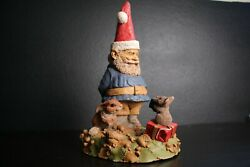 Edition 1 Tom Clark Tim Wolfe 11 Say Christmas Garden Mouse Bunny 6379 Statue