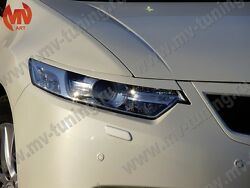 Front Headlights Covers Nh-788p For Honda Accord 8 / Acura Tsx Cu1 Cu2 Cw1cw2