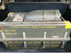 Military Very Cool Anti-tank Guided Missile Projectile Case