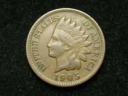 2021 Sale Xf 1905 Indian Head Cent Penny W/ Diamonds And Full Liberty 167p