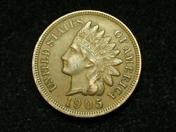 2021 Sale Xf 1905 Indian Head Cent Penny W/ Diamonds And Full Liberty 168p