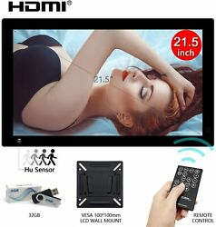 21.5digital Photo Picture Frame Ips Lcd Screen Motion Sensor Advertising Player