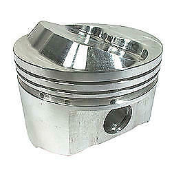 Sportsman Racing Products 4.155 In Bore Small Block Chevy Piston 8 Pc P/n 142034