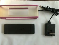 Bose Minilink Accessaries Charging Cradle And Ac Adapter And Pink Skin