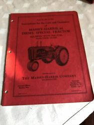 1953 Massey Harris 44 Diesel Special Tractor Repair Parts List Catalogs 64 Pages