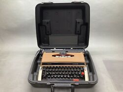 Sears Achiever Portable Mechanical Typewriter Built By Brother With Manuals