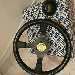 Jdm Nissan Nismo Steering With Boss Horn Button Box [near Mint] Rare Vintage