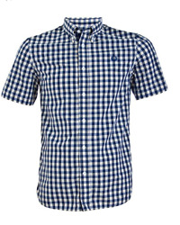 Fred Perry Men#x27;s Pastel Gingham Shirt $40.00