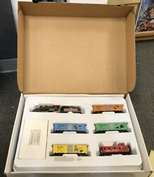 Vintage 1998 Bachmann Collector's Edition Monopoly Ho Train Set New Free Ship