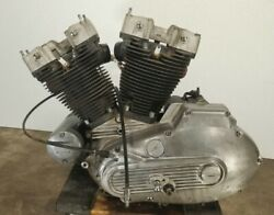 84 Harley Sportster Ironhead Xlh 1000 Engine Motor Complete Guarantee And Warranty
