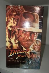 Indiana Jones And The Temple Of Doom Vhs 1989brand New Sealed