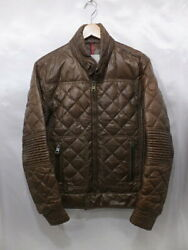 Moncler Aristide Quilted Down Jacket Blouson Posted By Leon Made In Hungary Size