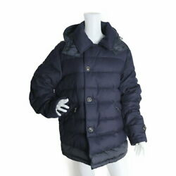 Moncler Villeroy Down Jacket 20914133880 Wool 100 Ninet Feather 10 Navy