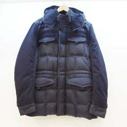 Moncler Jacob Down Jacket Size Color Navy Secondhand 122 Import Suzuka Sold At