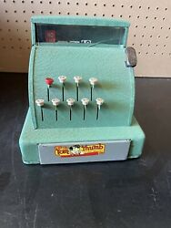 Vintage Tom Thumb Green Cash Register Made By Western Stamping Fast Shipping