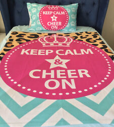 Cheerleading Blanket And Pillow Case