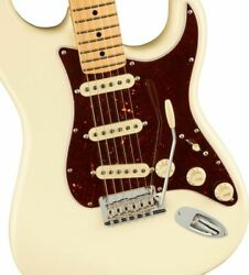 Fender American Professional Ii Stratocaster Maple / Olympic White