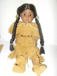 American Girl Pleasant Company Kaya Native American Indian Doll 18 Meet Outfit