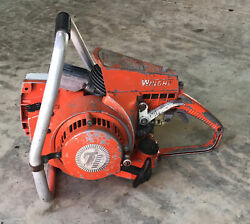 Vintage Wright C-50 Chainsaw For Parts / Repair Logging Chain Saw Power Saw Sss