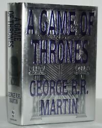 A Game Of Thrones Signed 1st/1st Printing George R.r. Martin
