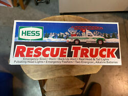 1994 Hess Rescue Truckin Original Box Never Played With Toy Display Only Read