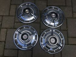"""14"""" 1963 Chevrolet Ss Wheel Covers Set Of 4"""
