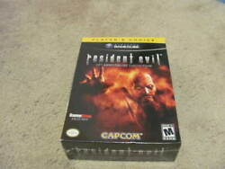 Resident Evil 10th Anniversary Collection Gamecube Gamestop Exclusive Sealed New