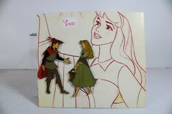 A5 Disney Catalog Le 2400 Pin Princes And Princesses Framed Aurora And Phillip Only
