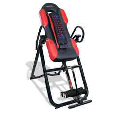 Heat Massage Inversion Table Massager Home Training Gym Exercise Sport Equipment