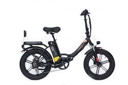 48v 750w Fat Tire Folding City Electric Bike Low Step Lcd Display Disc Brakes