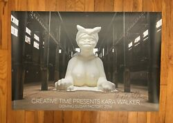 Kara Walker Signed Poster Offset Lithograph 24 X 36 Rare Sold Out 2014