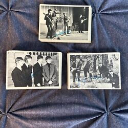 Beatles Vintage 1964 Topps Trading Cards. Series 1,2,3 Cards As Listed, 65 Total