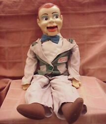 1950and039s Paul Winchelland039s Jerry Mahoney 24 Ventriloquist Dummy W/box- View Photos
