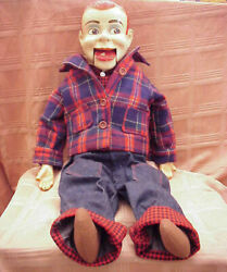 1950and039s Paul Winchelland039s Jerry Mahoney 24 Ventriloquist Dummy - See All Photos