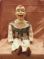 1950and039s Paul Winchelland039s Jerry Mahoney 24 Ventriloquist Dummy String Mouth