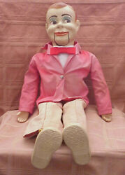 1950and039s Paul Winchelland039s Jerry Mahoney 24 Ventriloquist Dummy - View The Photos