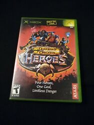 Dungeons And Dragons Heroes Complete In Case Microsoft Xbox