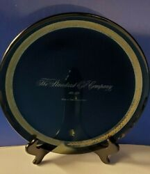 Vintage Standard Oil Company Glass Tray Starting Our Second Century Of Service