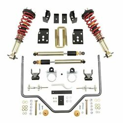 Bell Tech 1000hkp Coilover Adjustable Spring Lowering Kit For 15-20 Ford F-150