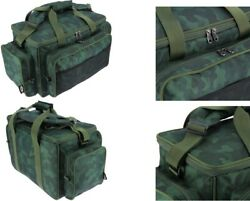 Ngt Camo Green Carp Coarse Fishing Tackle Bag Holdall Insulated 709c