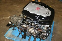 2003-2004 Infiniti G35 Coupe 3.5l V6 Vq35 Engine And Automatic Transmission