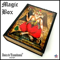 Box Witchcraft Kit Starter Ritual Magic Wicca Pagan Altar Witch Lucifer Wood Set