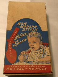 Vintage Eatrite Baby's Fork And Spoon Complete Store Countertop Display W/spoons