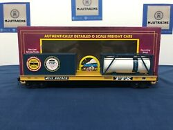"""Mth Csx 802290 """"saftey Train"""" Flat Car W/ Tank And 20' Containers 20-95293"""