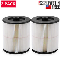 2x Replacement Filter Cartridge For Shop-vac 90350 90304 90333 9030400 5 Gallon
